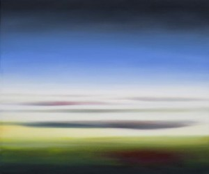 Ohne Titel. 2014 (16.12.14) Öl auf Leinwand.  50x60 cm.